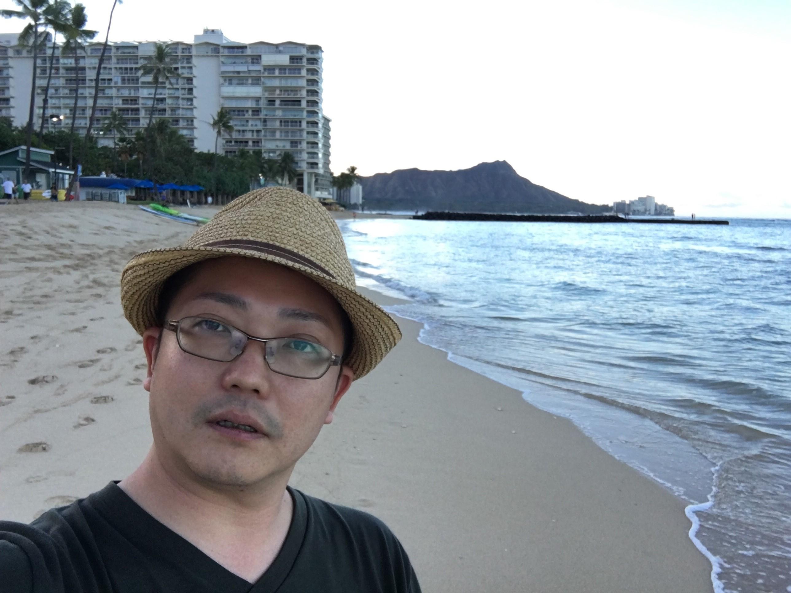 ハワイ研修1日目(前半)で餃子います(^_-)