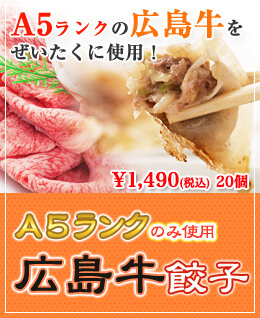 広島牛餃子