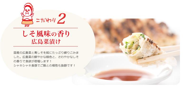 しそ風味の香り 広島菜漬け