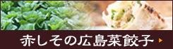 赤しその広島菜餃子